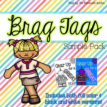 Brag Tag Sample Pack!