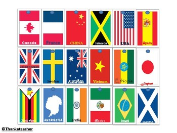 Brag Tag : Flags of the World