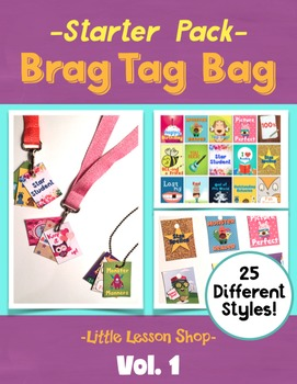 BRAG TAGS Starter Pack Volume 1