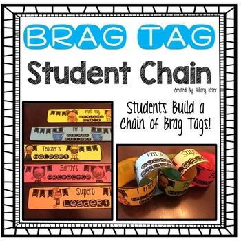 Brag Tag Student Chain