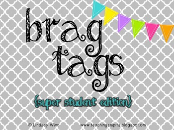 Brag Tag Super Student Collection