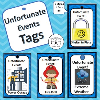 Brag Tag : Unfortunate Events