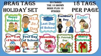Brag Tags 20 Page Celebration Pack