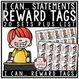I Can Statement Reward Tags - Classroom Management Reward Coupon Tags