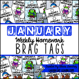 Homework Brag Tags: January