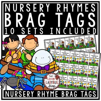 Nursery Rhyme Brag Tags