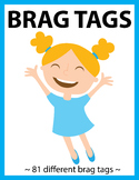 Brag Tags Back to School, Brag Tags for Behavior, Brag Tags for Big Kids
