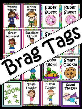 Motivational Brag Tags: Incentives