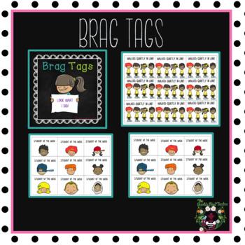 Brag Tags (Editable Text)