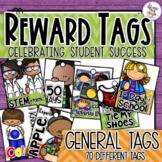 Reward Tags - General School Day Tags