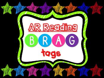 Brag Tags - AR Reading Points