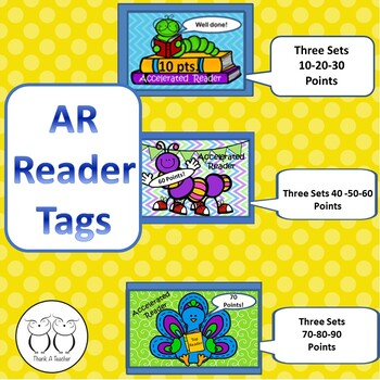 Brag Tags: AR Reading Points Awards