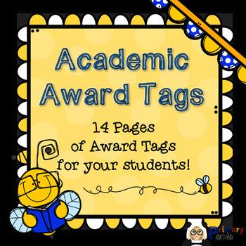 Brag Tags - Academic