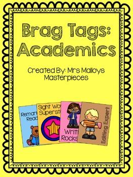 Brag Tags: Academics