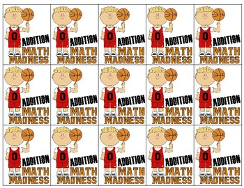 Brag Tags - Addition/Subtraction Math Madness