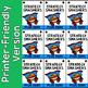Brag Tags Addition & Subtraction - Super Hero Theme