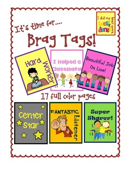Brag Tags: Adorable Clip-Art and Full Color