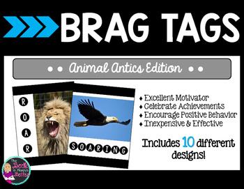 #summer2017 Brag Tags - Animal Antics