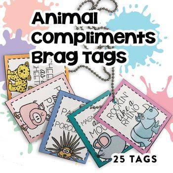 Brag Tags:  Animal Compliments