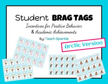 Brag Tags (Arctic Animals Version)