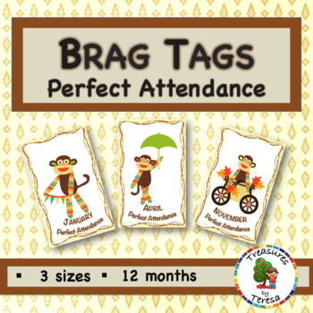 Brag Tags-Attendance Edition