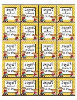 Brag Tags - Attendance & Homework