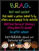 Brag Tags (B.R.A.G. Tags) Classroom Management
