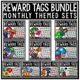 Holiday Brag Tags BUNDLE [Classroom Management- Monthly Th
