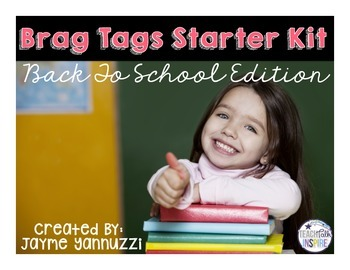 Brag Tags {Back To School Edition}