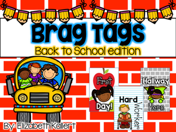 Brag Tags: Back to School