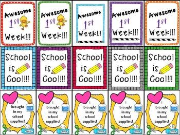 Brag Tags - Back to School