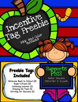 Brag Tags - Back to School FREEBIE