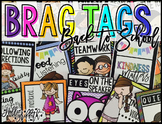 Brag Tags {Back to School, Rules, Procedures, Positive Behavior}