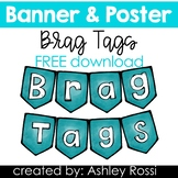 Brag Tags Banner For Bulletin Board FREE