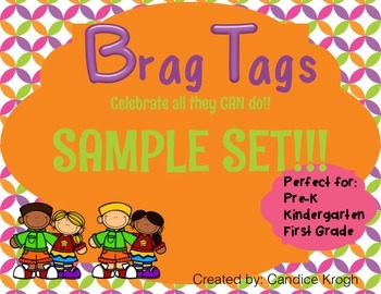 Brag Tags; Behavior FREEBIE
