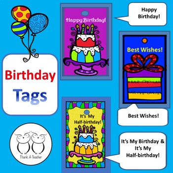 Brag Tags: Birthdays