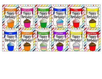 Brag Tags - Birthdays