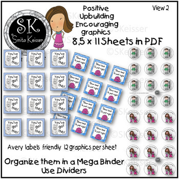Brag Tags Black Line Ink Friendly (Smita Keisser Clip Art)