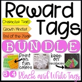 Brag Tags. Black & White Bundle