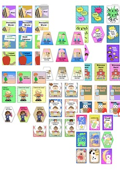 Back to school Bundle Brag Tags and Bookmarks (Teachable  Holidays  All Year )