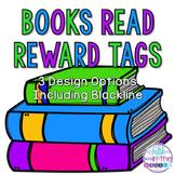 Number of Books Read Reward Tags