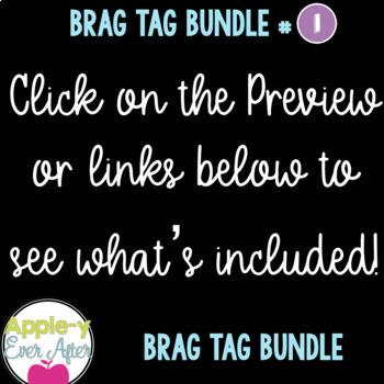 Brag Tags Bundle 1 - Brag Tag Starter Pack