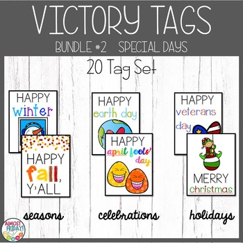 Brag Tags Pack #2 Special Days