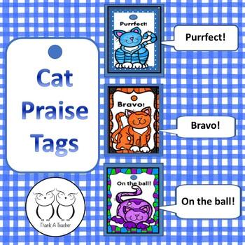 Brag Tags Cats Positive Praise