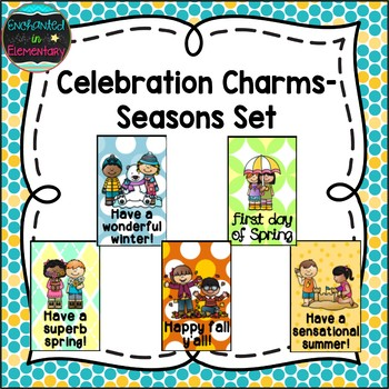 Brag Tags- Celebrating Seasons Set
