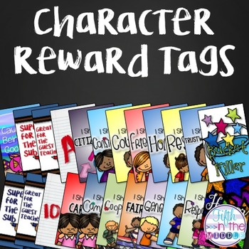 Character and Behavior Brag Tags