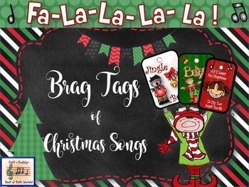 Brag Tags ~ Christmas Song Titles