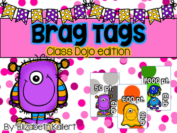Brag Tags: Class Dojo