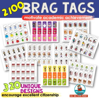 Brag Tags | [Citizenship and Academics] | Motivation