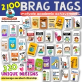 Brag Tags - Classroom Management -[Citizenship and Academics]